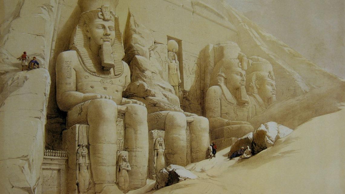 ABU SIMBEL  –  MEGA-STRUCTURE DE L'ANCIENNE EGYPTE